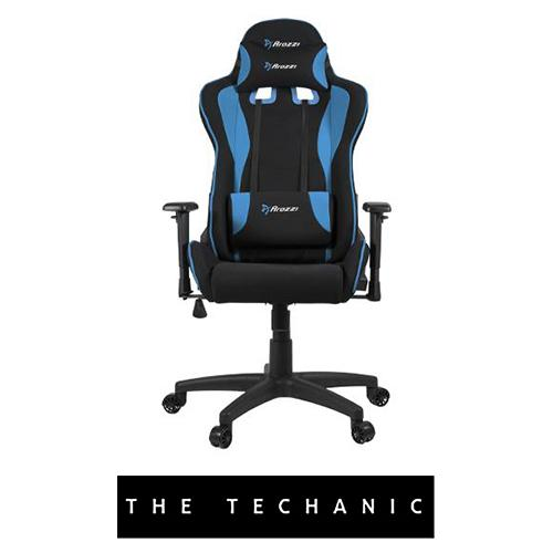 AROZZI MEZZO V2 GAMING CHAIR BLUE WOVEN FABRIC