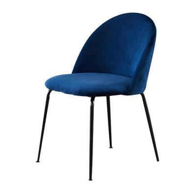 JIJI (Ivona Dining Chair) (Free Installation) / Dining Chair / Nelex Fabric / 12 Month Warranty / (SG)
