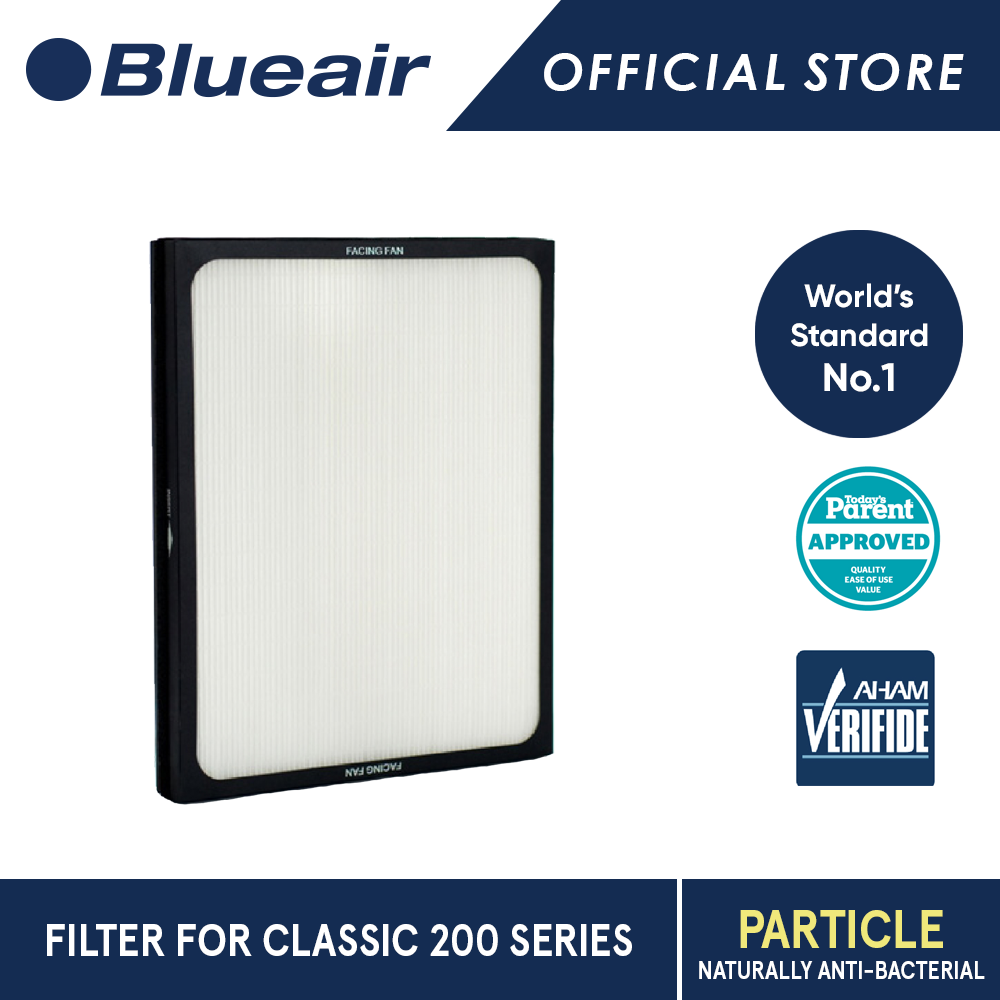 Blueair Classic 200 Series Particle Replacement Filter.