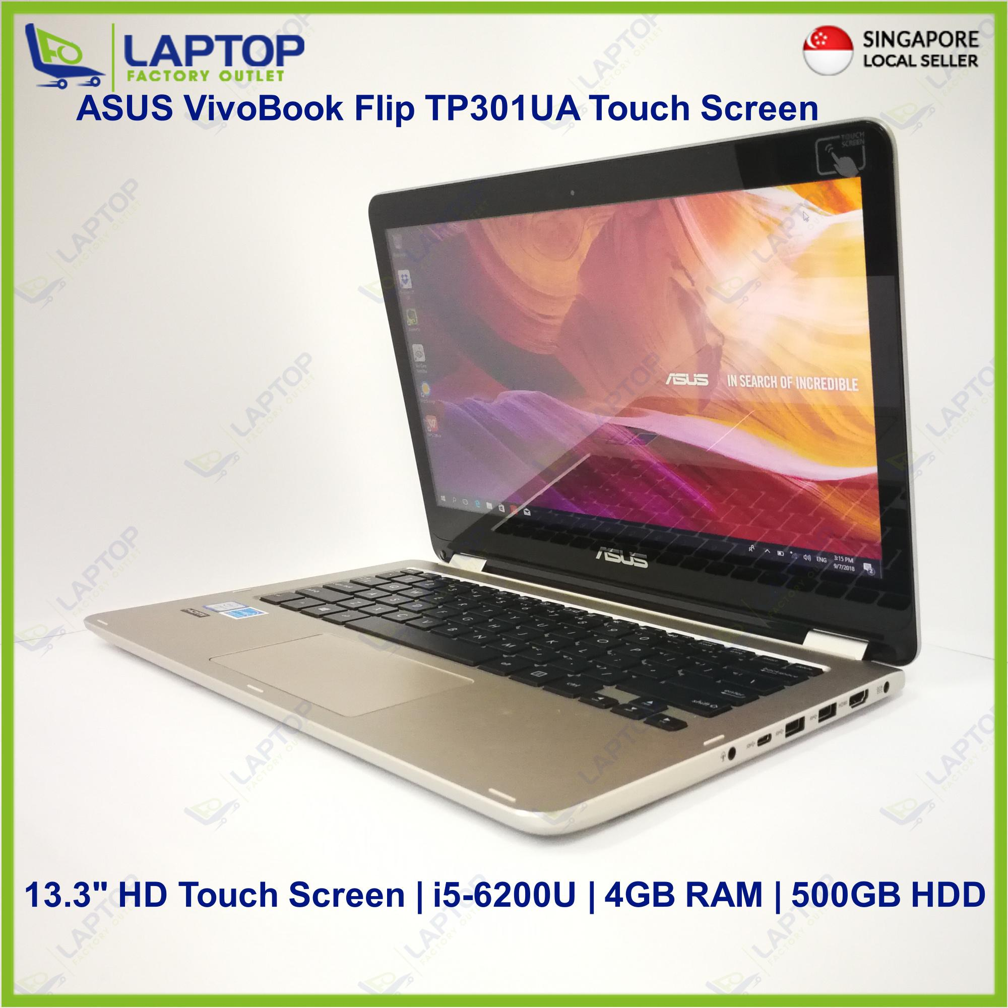 ASUS VivoBook Flip TP301UA Touch Screen (i5-6/4GB/500GB) Premium Preowned [Refurbished]