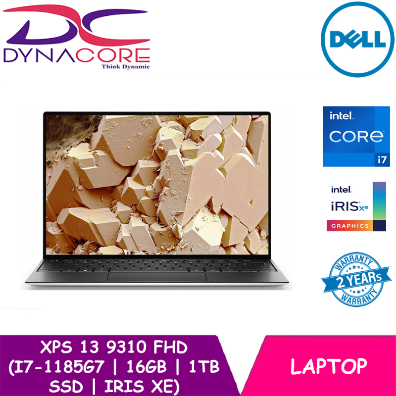 DELL XPS 13 9310 FHD (i7-1185G7   16GB   1TB SSD   IRIS Xe   WIN10   13.4 INCH FHD) 2 YEARS WARRANTY