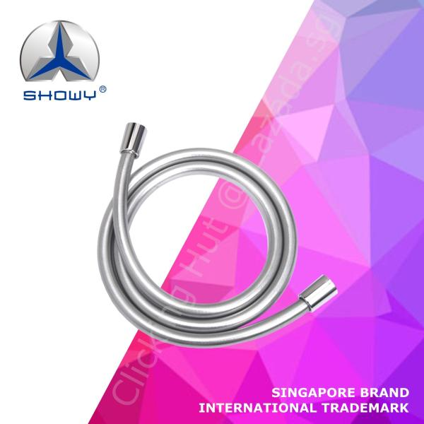 SHOWY 360° Anti-twist PVC Shower Hose / High Pressure Resistance (A SINGAPORE BRAND)