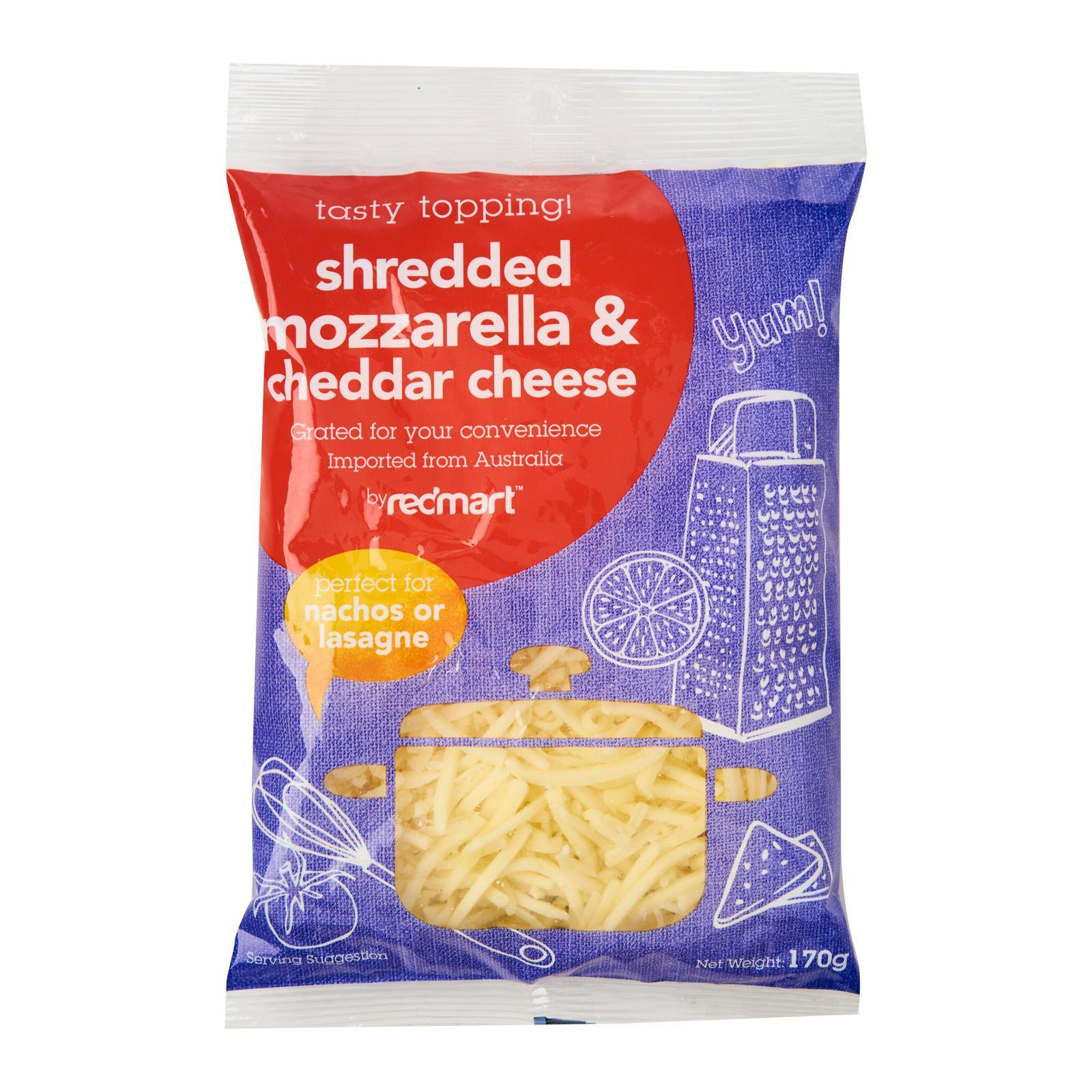 Sliced & Grated Cheese