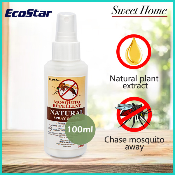 Buy Natural Mosquito Repellent spray 100ml Singapore