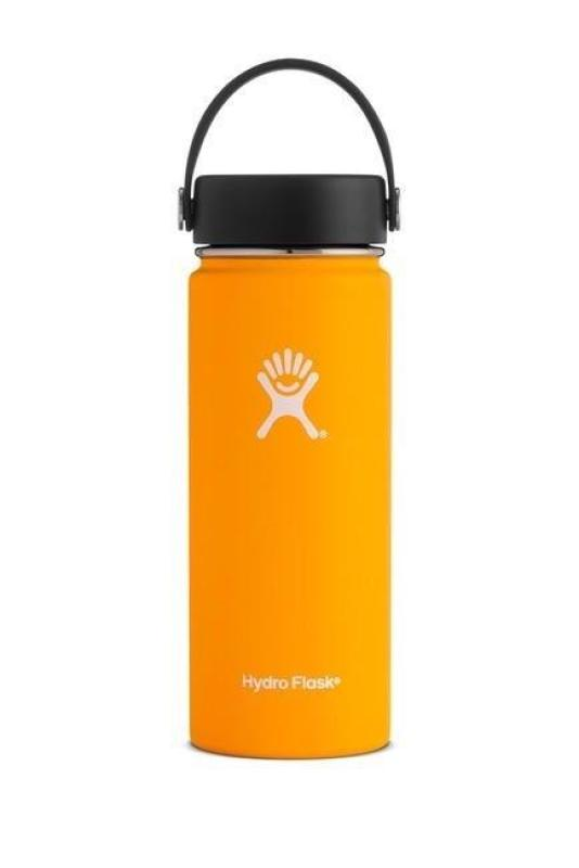 Buy Hydro Flask 18oz Wide Mouth Double Layer Insulated (Orange) Singapore
