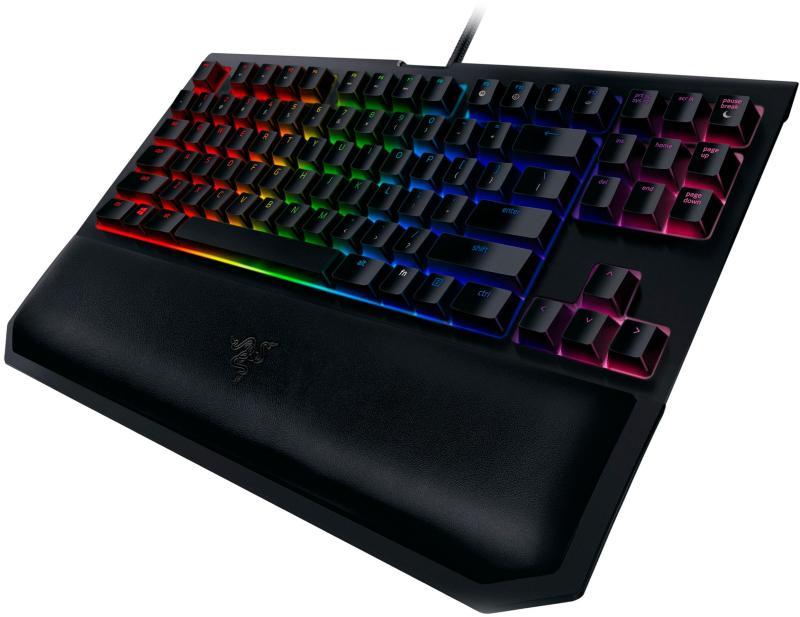 Razer BlackWidow Tournament Edition Chroma V2 – Mechanical Gaming Keyboard - (YELLOW SWITCH) Singapore