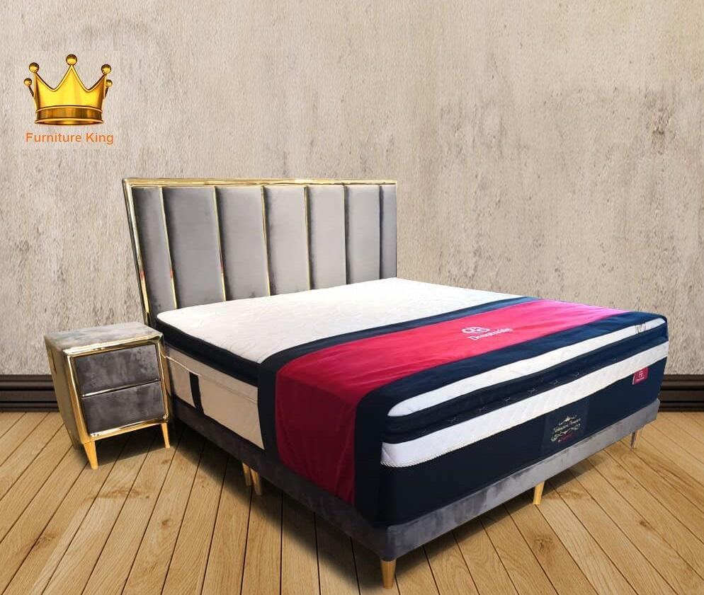Velvet Bed Frame ★ ★Protector ★Beddings ★Bed Frame ★Bed Room ★ Side Table ★Night Stand