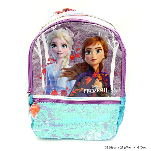 Frozen 2 Sequin Pre School Backpack