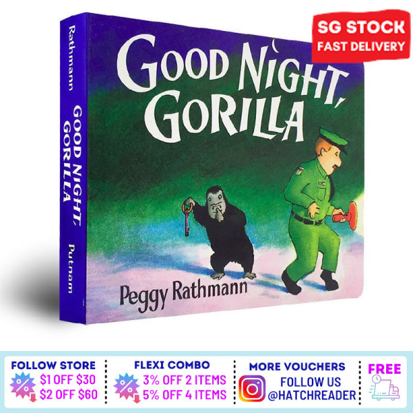 [SG Stock] English Story book  Good Night, Gorilla for children child kids baby 0 1 2 3 4 5 6 years old learning sensory play flash card picture