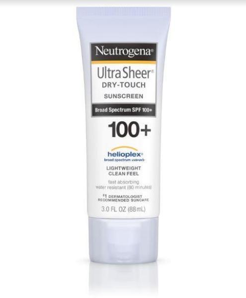 Buy Neutrogena Ultra Sheer Sunscreen Lotion with SPF 100+ Singapore