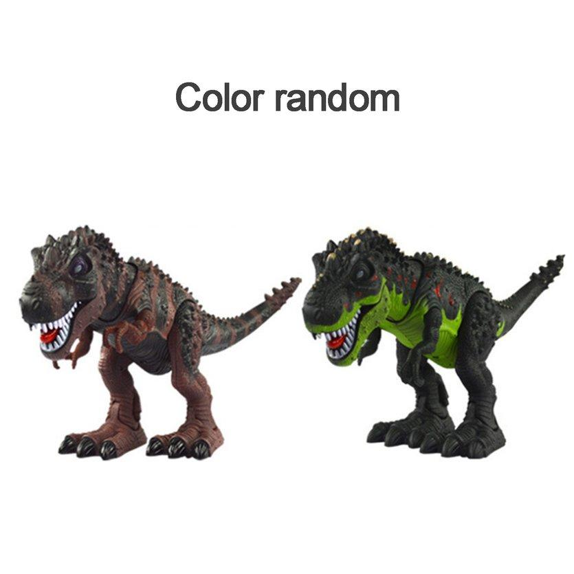 Oh Electric Kids Toy Walking Dinosaur Real Movement T-Rex Figure Toy With Light Sound Classic Model Toys Birthday Gift By Ohbuybuybuy.