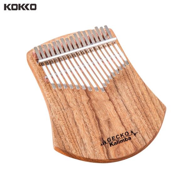 KOKKO Kalimba 17 Keys Kalimba African Camphor Wood Thumb Piano Finger Percussion Malaysia