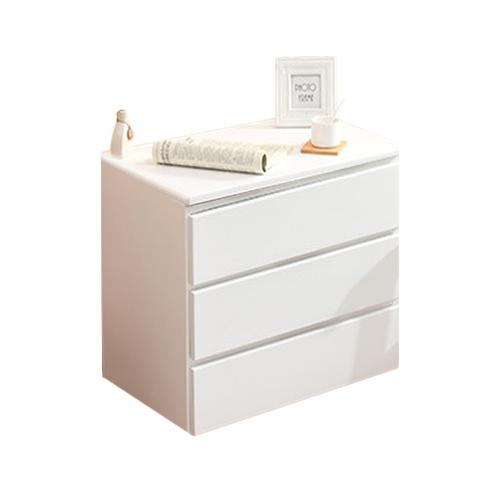 JIJI (Contemporary Piano Glass Cabinet) (Free Installation) / Bedside Cabinet / Bedside Drawer / Storage Drawer / Storage Cabinet / 12 Month Warranty / (SG)