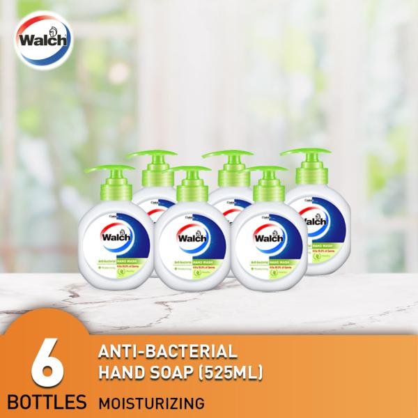 Buy Walch 525ml Handwash 6 Bottles - Moisturizing / Refreshing / Sensitive Singapore