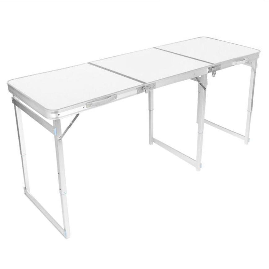 JIJI (120CM / 180CM) Heavy Duty Portable Aluminium Folding Table - Foldable Tables / Outdoors (SG)