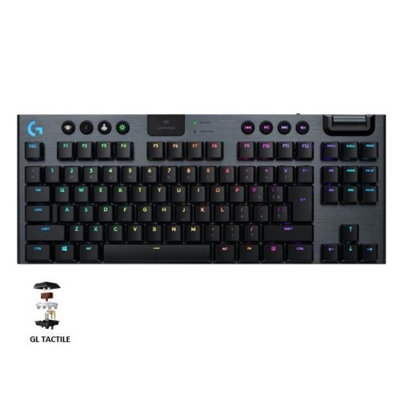 Logitech G915 TKL Tenkeyless Lightspeed Wireless / Bluetooth Lightsync RGB Mechanical Gaming Keyboard Singapore
