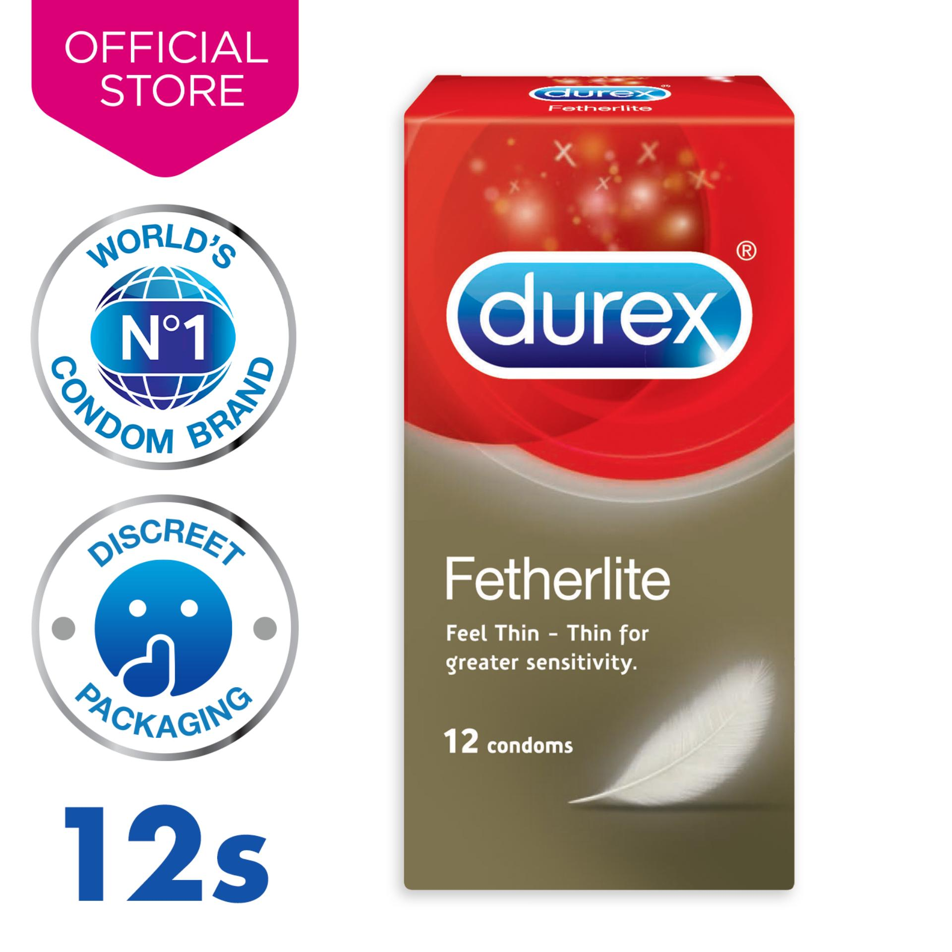 Durex Fetherlite Condoms X12 By Durex.
