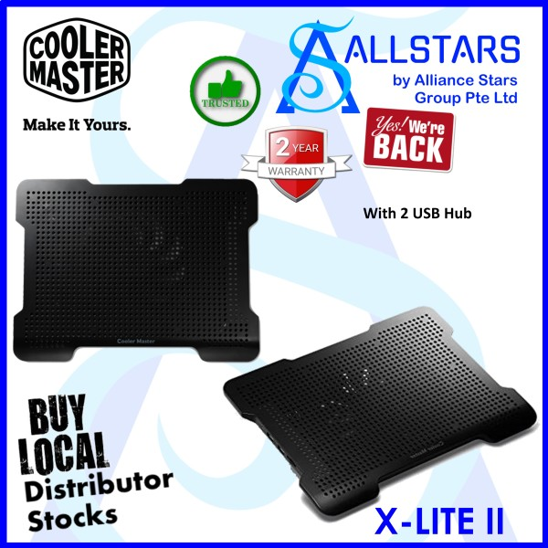 (ALLSTARS : We Are Back Promo) CM / COOLERMASTER / Cooler Master X-LITE II W/2 USB HUB (R9-NBC-XL2K-GP)-WRTY 2YRS W/BANLEONG
