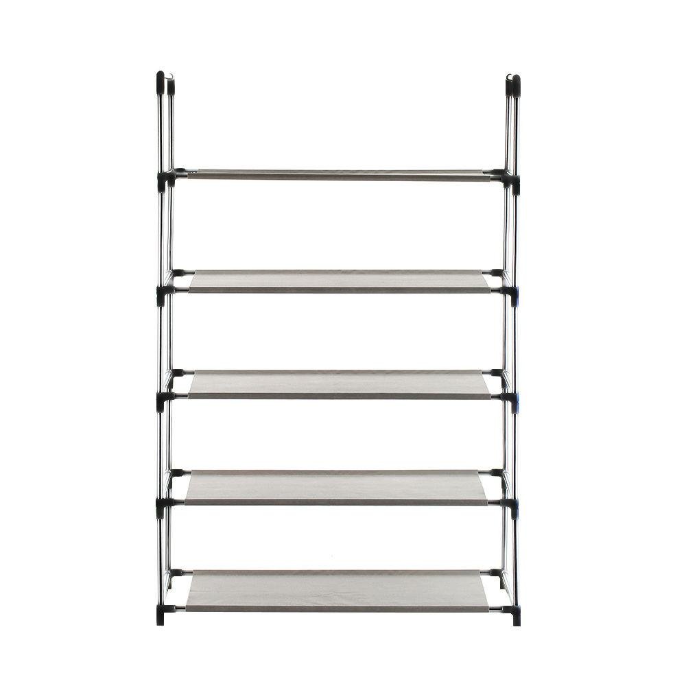 LgpennyMultifunctional 5 Layer Shoe Rack Shelf Cabinet Stack Shelf Storage Cabinet