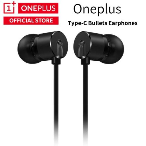 OnePlus Type-C Bullets Earphones Black Singapore