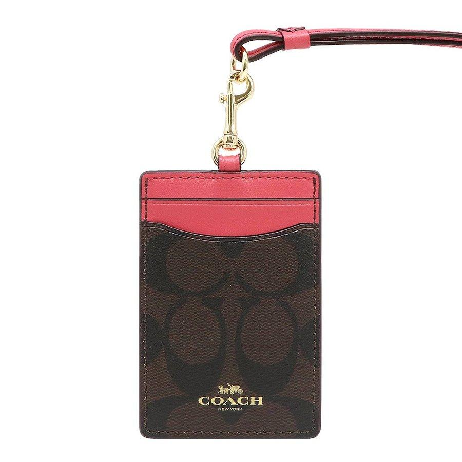6b3f6444648 NEW ARRIVAL Coach Lanyard ID Case Multiple Designs With Coach Gift Box