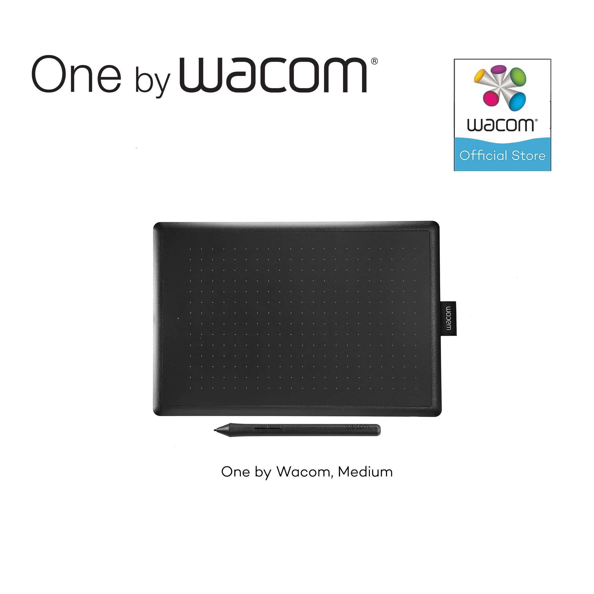 One by Wacom Medium (CTL-672) Graphic Drawing Pen Tablet