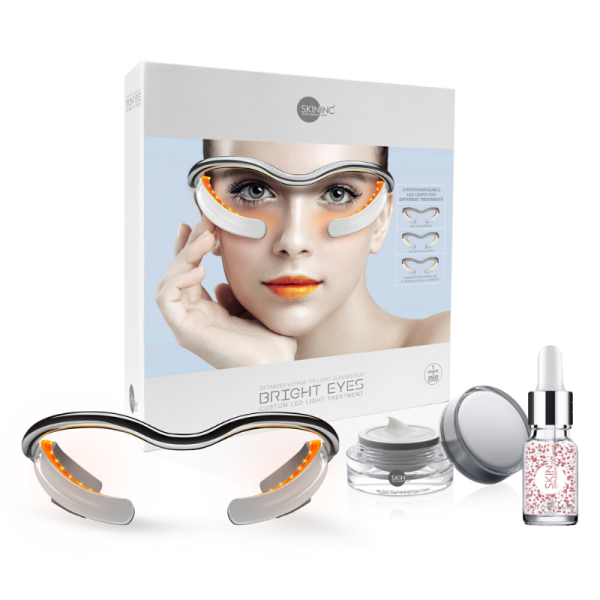 Buy Ultimate Anti-oxidant Eye Care Set - Optimizer Voyage Tri-Light Glasses for bright eyes, My Daily Dose For Bright Eye Cream and French Pine Bark Serum  to reduce dark circles, fine lines and eye puffiness. Singapore
