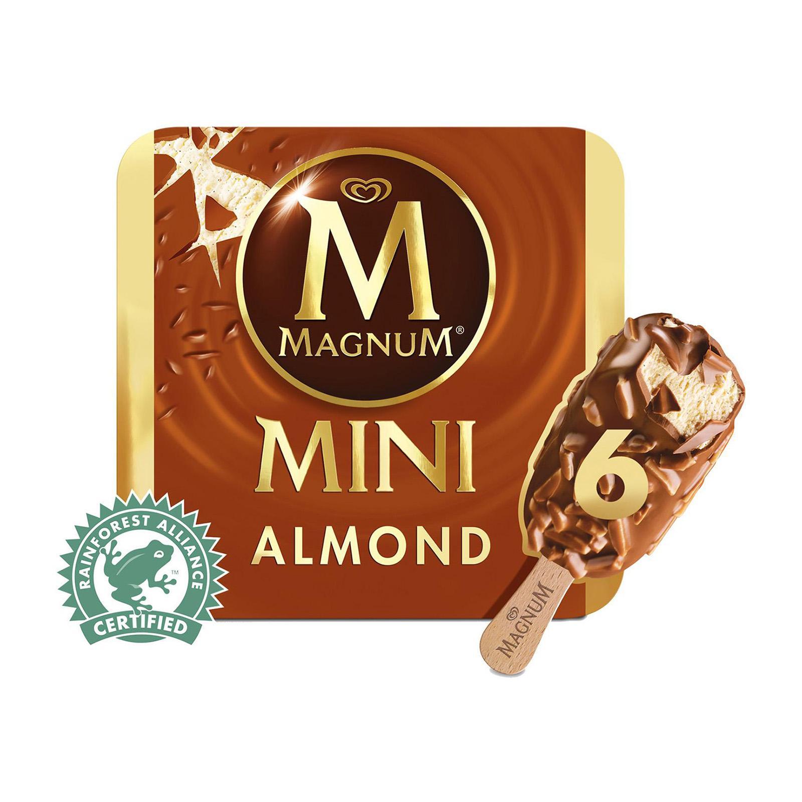 Magnum Mini Almond Multipack Ice Cream
