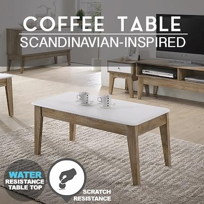 SO Cevo White Coffee Table