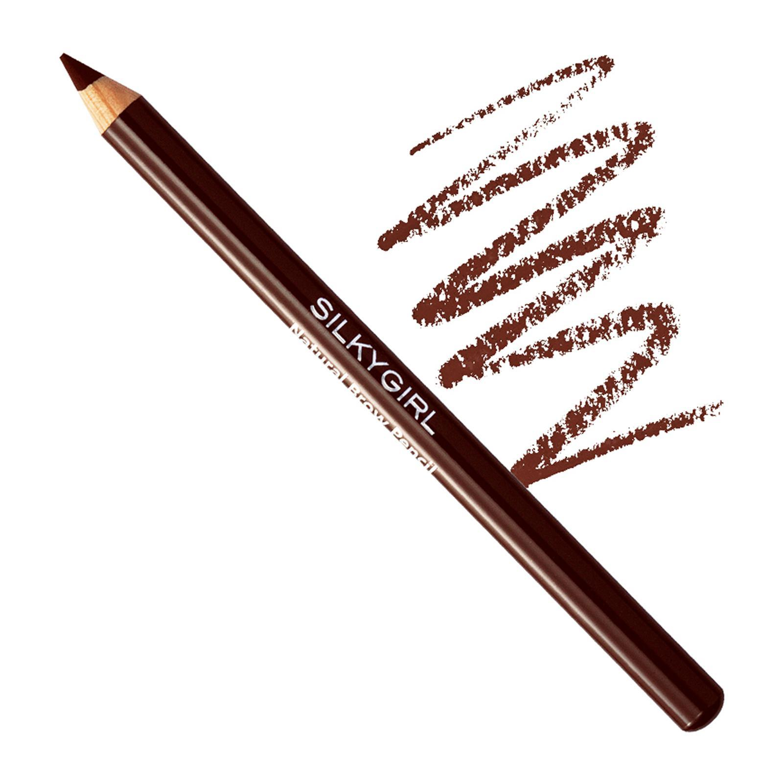 SilkyGirl Natural Brow Pencil 02 Dark Brown