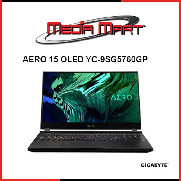 Gigabyte AERO 15 OLED YC-9SG5760GP - i9-10980HK/RTX 3080 GDDR6 8GB/64GB DDR4 (32GBx2)/1TBx2 M.2 PCIe/Win 10 Pro/BAG