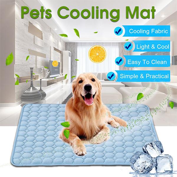 520YOSWI 5 sizes Cushion Cold Bed Moisture-proof Sleeping Pad Mattress Dog Cat Pet Cooling Mat