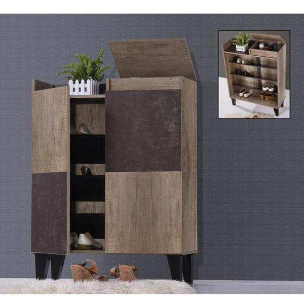 [A-STAR] Dynamic Shoe Cabinet Rack 2 Door wooden (Free Install)