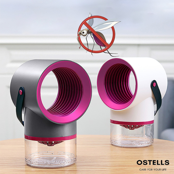 [OSTELLS] Mosquito Killer Lamp, USB Powered Bug Zapper, UV LED Bug Lights, Photocatalysis Insect Trap, Low Noise Portable Effective