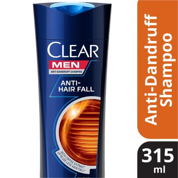 Buy Clear Men Anti-Hairfall Anti-Dandruff Shampoo 315ml Singapore