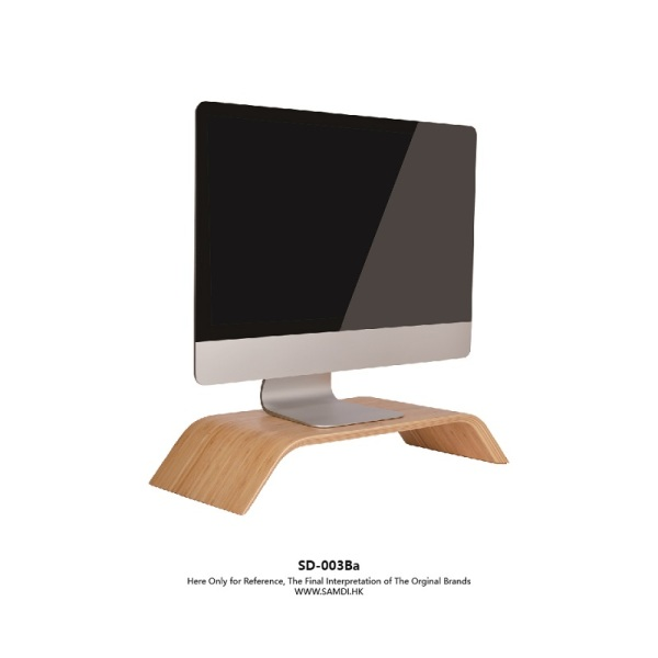 SAMDI Walnut / Birch Monitor Stand For Macbook / Other Laptops / PC / Monito