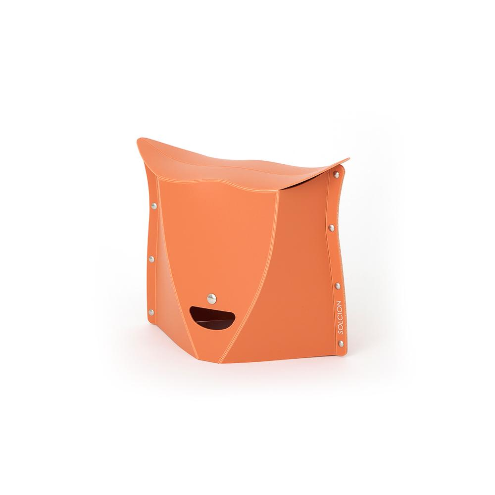 Solcion Patatto 250 - portable compact stool (Terracotta)