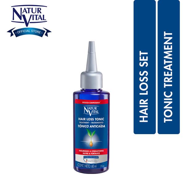 Buy Naturvital Hair Loss Tonic Treatment 60ml Singapore