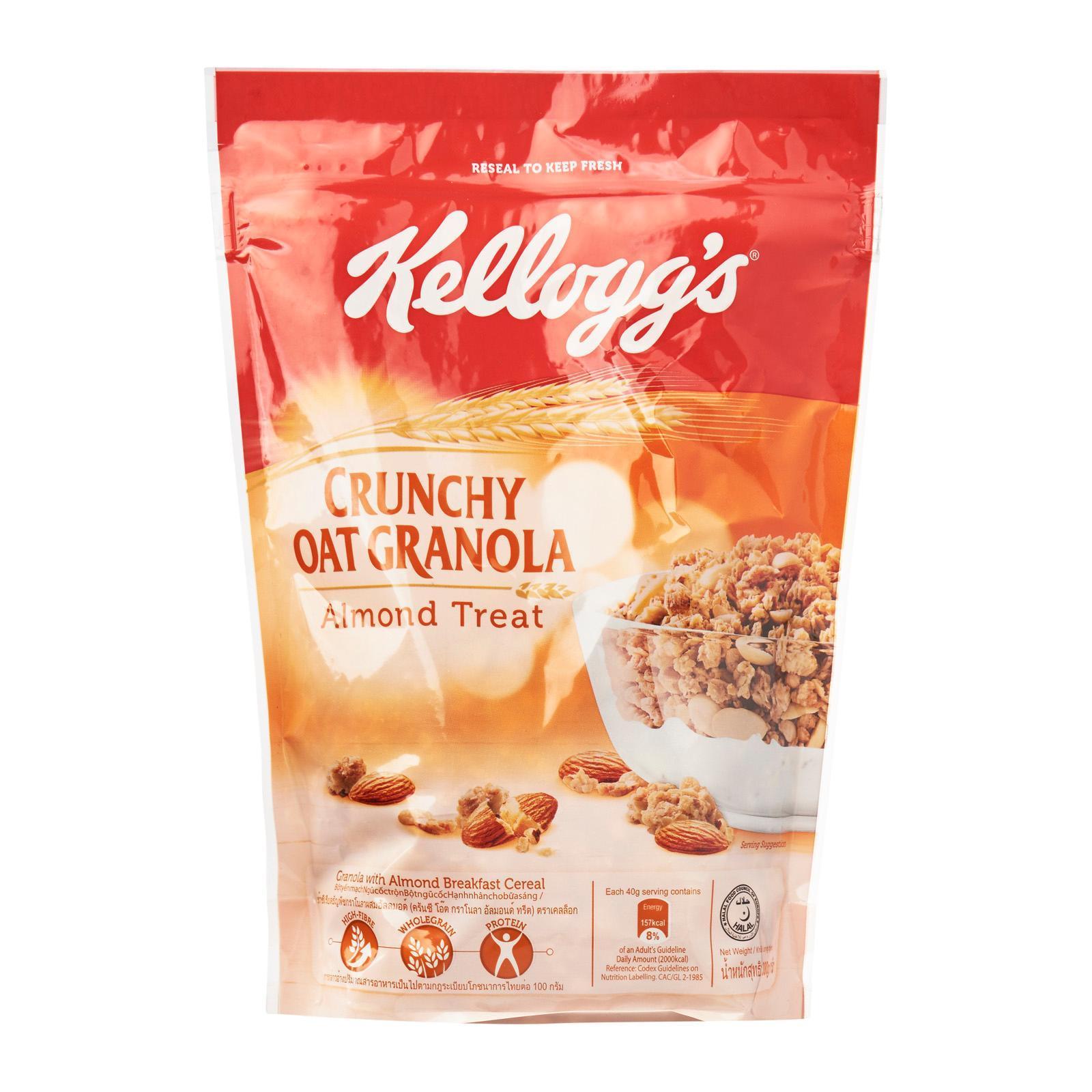 KELLOGG'S Crunchy Oat Granola - Almond Treat 380g