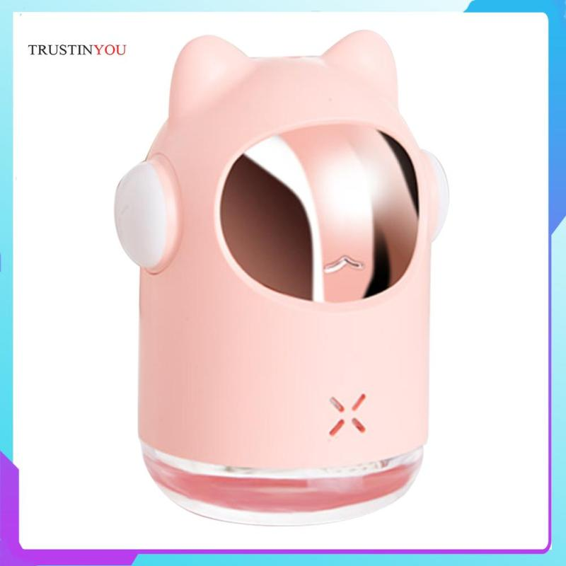 Humidifier Cat Shaped Home Office USB Portable Mist Maker Sprayer Aroma Diffuser Singapore