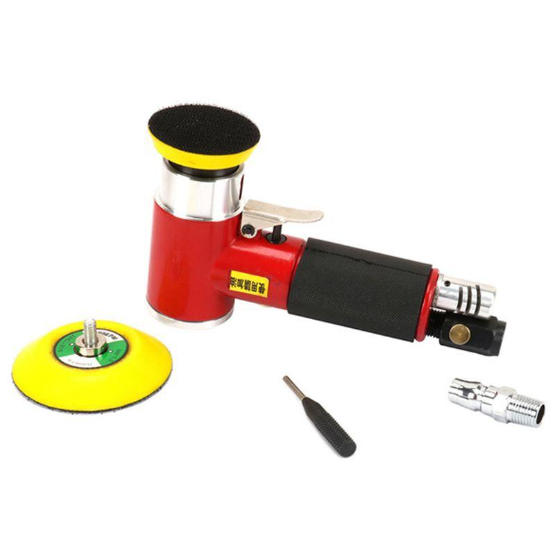 2inch 3inch Mini Air Sander Kit Pad Eccentric Orbital Dual Action Pneumatic Polisher Polishing Buffing Tools For Auto Body Work New