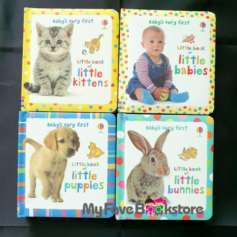 [SG Stock] 4bks Usborne Babys Very First Little Books