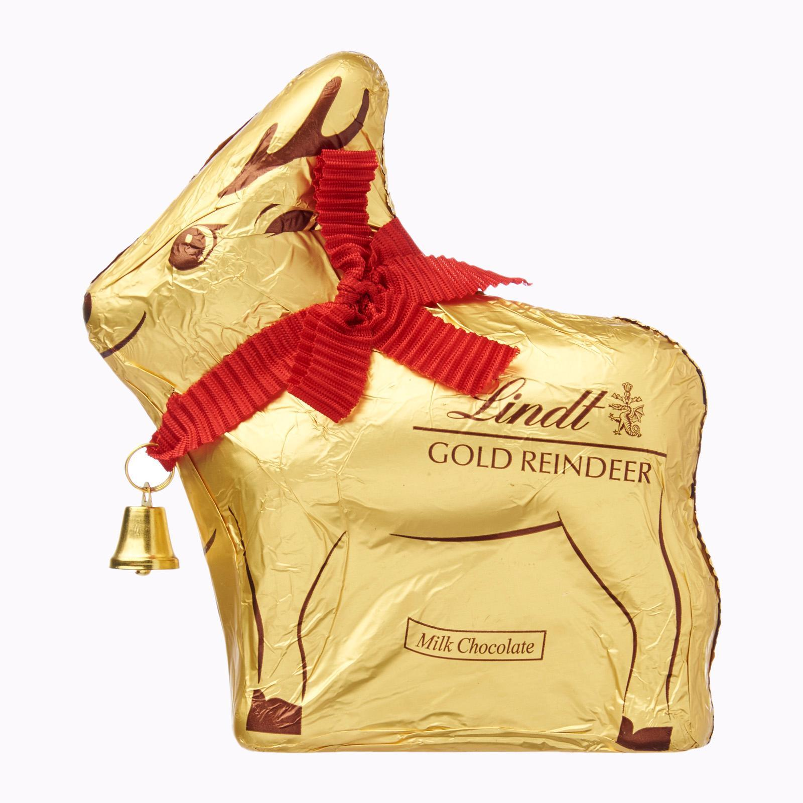 Lindt Milk Chocolate Reindeer - Christmas Special