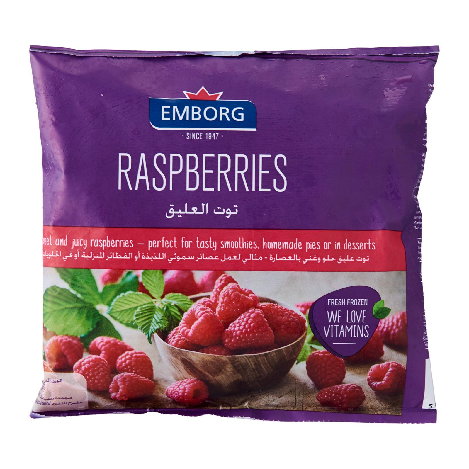 Emborg Raspberries - Frozen