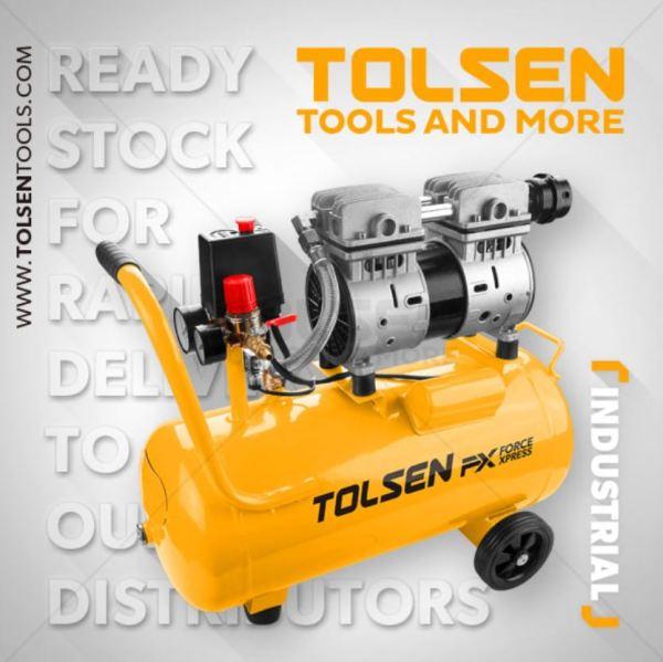 Tolsen Tools , Air Compressor Silent 24L - 73134