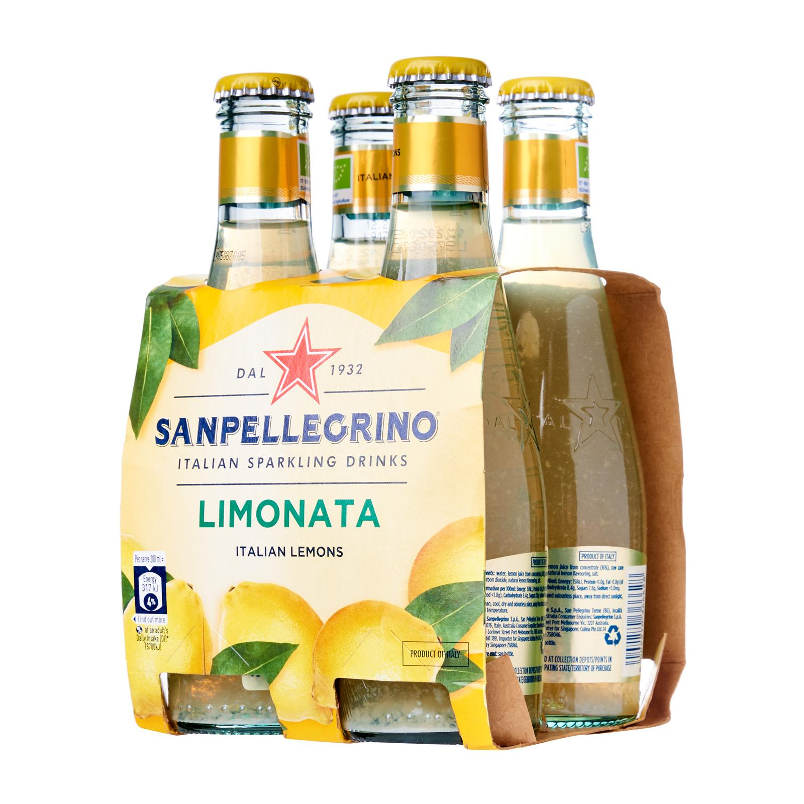 San Pellegrino Organic Limonata Sparkling Beverage