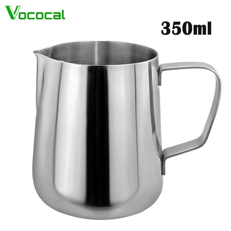 Vococal 350ml Thicken Stainless Steel Coffee Latte Milk Frothing Cup Pitcher Jug With Handle - Intl By Vococal Shop.