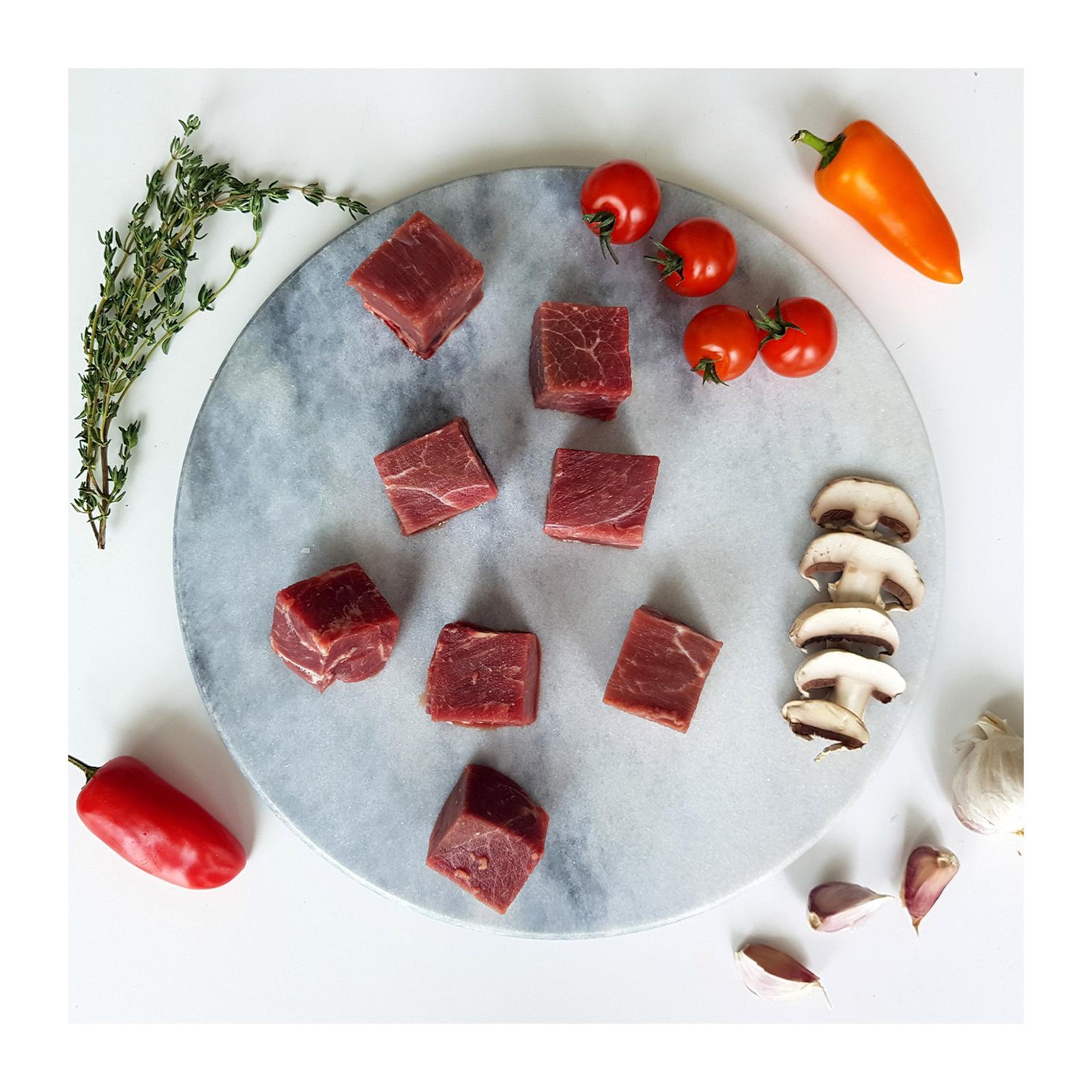 Baggie's Premium Beef Cubes - Frozen