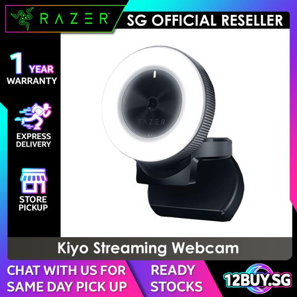 Razer Kiyo Webcam 3PM.SG 12BUY.SG 1 Years SG Warranty Express Door Delivery