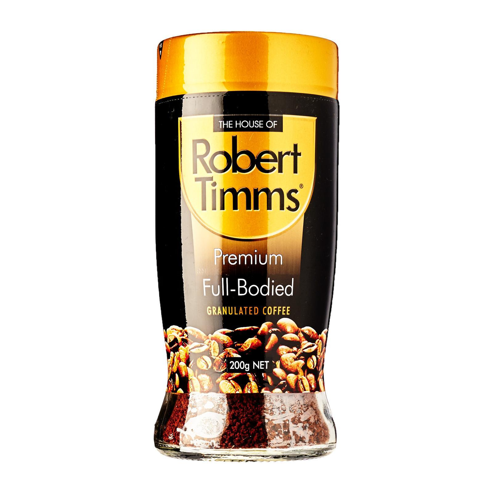 Robert Timms Premium Full Bodied Granulated Coffee - 200G